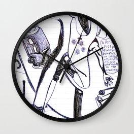 """""""cul de sac"""" Wall Clock"""
