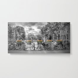 AMSTERDAM Gentlemen's Canal | panoramic view Metal Print
