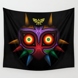 The Mask Of Majora Wall Tapestry