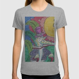 """James Joyce & The """"Hey Diddle Diddle"""" Cow T-shirt"""