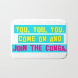 Everybody Conga!  Bath Mat
