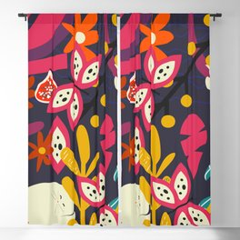 Bright nap time Blackout Curtain