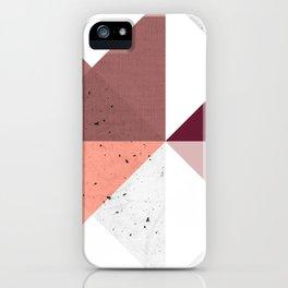 Modern Geometric 19/3 iPhone Case