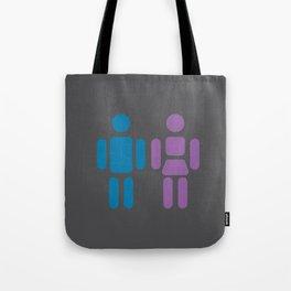 Ladies and Gents Tote Bag