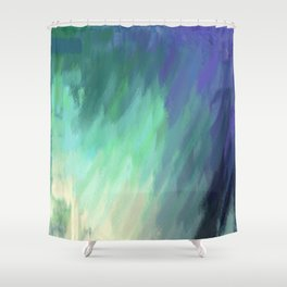 Washed Away Shower Curtain