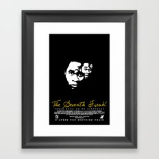 Freaky Faces Framed Art Print