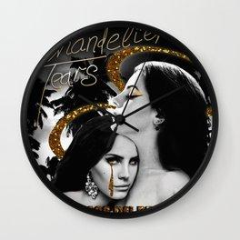 Chandelier Tears Wall Clock