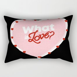 Twice what is love Rectangular Pillow