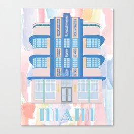 Miami Landmarks - Marlin Canvas Print