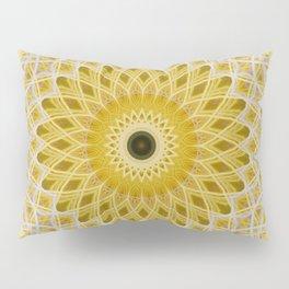 Honey and milk mandala Pillow Sham