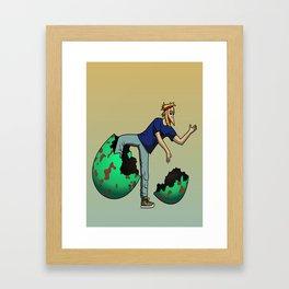 The Num Nums - Ziggy Framed Art Print