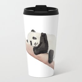 Watercolor Panda Travel Mug