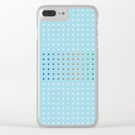 Pattern_B06 Clear iPhone Case