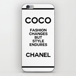 coco quote no. 10 iPhone Skin