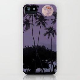 Harvest Moon Over Waikiki. iPhone Case