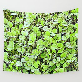 Popped Clover Wall Tapestry