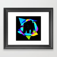 Multi Panda Framed Art Print