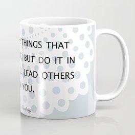 Fight, Lead - RBG Coffee Mug
