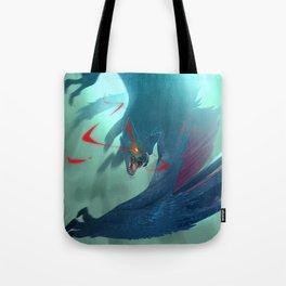 Nargacuga Hunt [Monster Hunter] Tote Bag