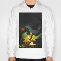 superhero Hoodies featuring Superhero by Kamiledesigns