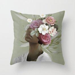 Bloom 9 Throw Pillow