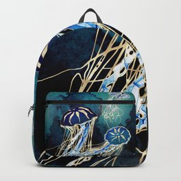 Metallic Jellyfish III Backpack