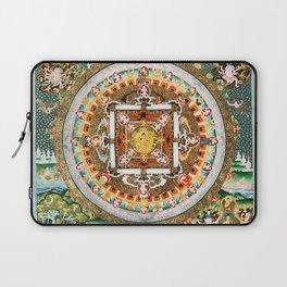 Buddhist Mandala White Tara Laptop Sleeve