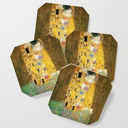 Gustav Klimt The Kiss Coaster