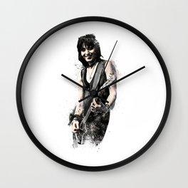 Joan Jett Wall Clock