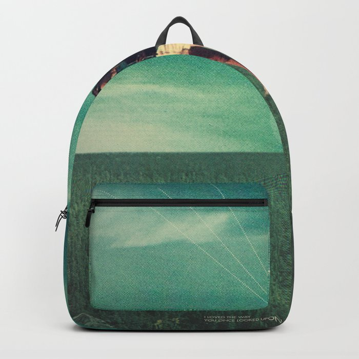 Loved the way You once looked upon Tomorrow Backpack