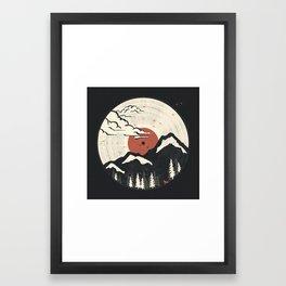 MTN LP... Framed Art Print