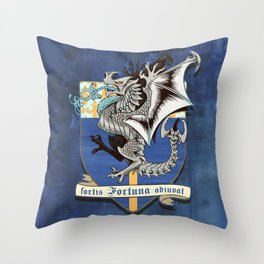 fortis fortuna adiuvat Throw Pillow