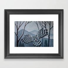 Grey Owl Framed Art Print
