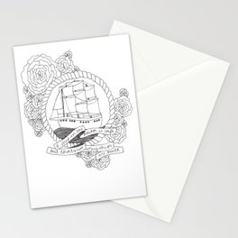 A Ship in the Harbor Stationery Cards