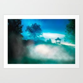 Magical Morning On The River - North Georgia Landscape Art Print