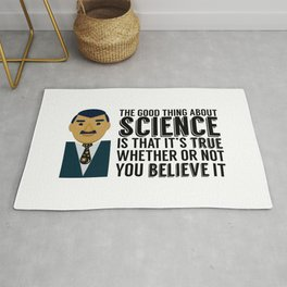 Neil deGrasse Tyson: Science IS Real Rug