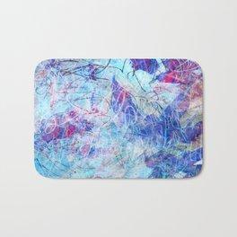 Sketchy Blue Sky Bath Mat