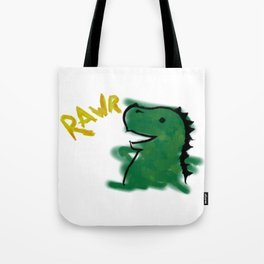 The Little Dinosaur Tote Bag