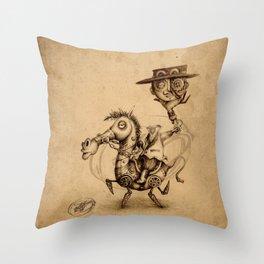 #8 Throw Pillow