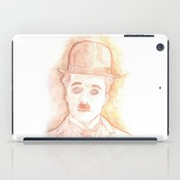 charlie chaplin iPad Cases featuring CHARLIE CHAPLIN by willeyworks
