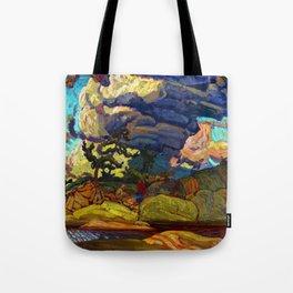 J.E.H. MacDonald The Elements Tote Bag