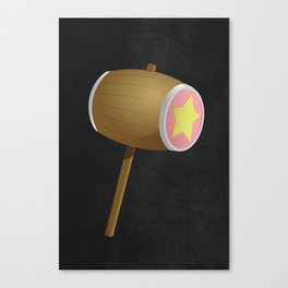 King Dedede Hammer Canvas Print