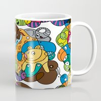 safari Mugs featuring Safari by Chris Piascik