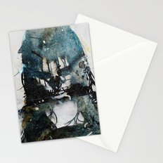 Tousled bird mad girl 2 Stationery Cards