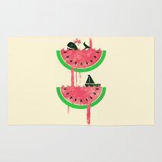 Watermelon falls Final Rug