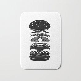 Burger Anatomy Bath Mat