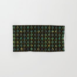 Endless Knot Pattern - Gold and Marble Hand & Bath Towel