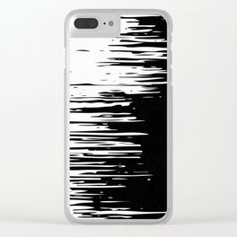 Distortion Clear iPhone Case