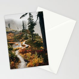 Pacific Northwest Forest Trail Stationery Cards