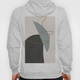 Minimal Abstract Art 3 Hoody